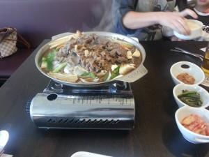 Bulgoki für zwei bei Choi in Sennfeld