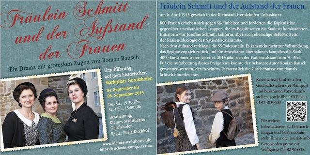 Frl. Schmitt - Aufstand der Frauen